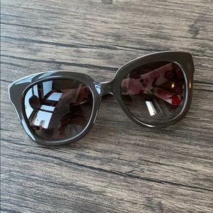 Kate spade dark mauve sunglasses